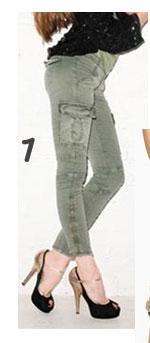 J Brand Houlihan Skinny Cargo Pant