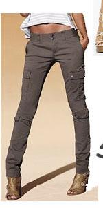 Victoria's Secret Skinny Cargo Pant in Stretch Twill