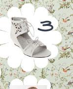 Dolcetta Cutout Sandal
