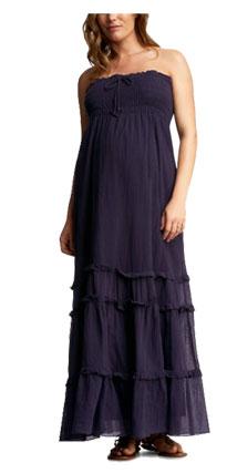 Gauzy Smocked Ruffle Dress from Gap