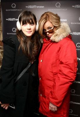Sundance 2011 Fashion: Zooey Deschanel and Elizabeth Banks
