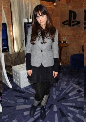 Sundance 2011 Fashion: Zooey Deschanel
