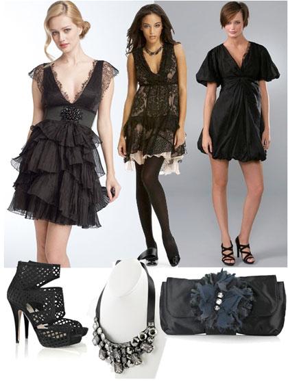 TheFind: A Little Romance - Black Lace Dresses