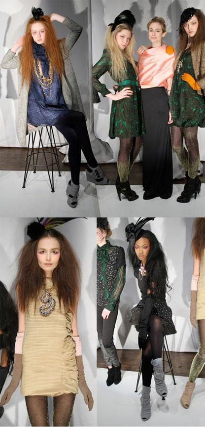 TheFind: Gossip Girl Designer Lorick Flaunts Flirty Frocks @ #NYFW