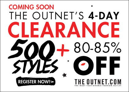The Outnet Clearance Sale
