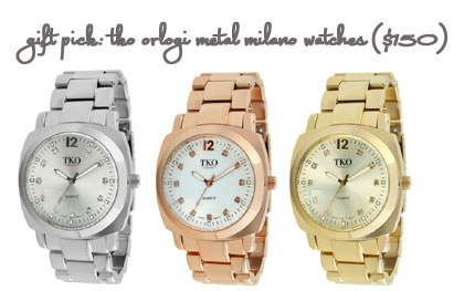 TKO ORLOGI's Metal Milano Watches
