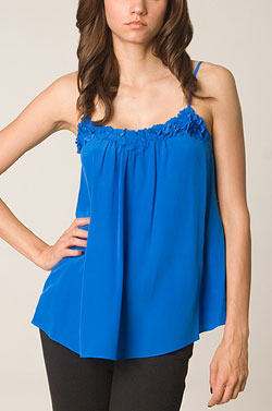 Rebecca Taylor Electric Blue Cami