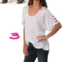 Kain Label 3 Strap Sleeve T-Shirt