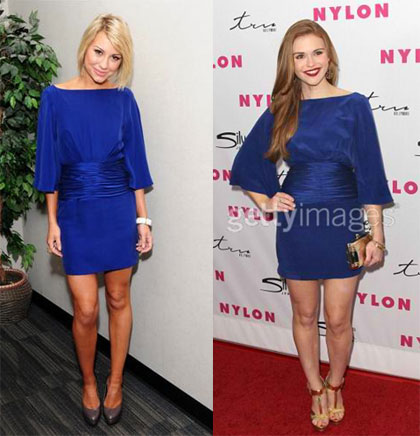 Chelsea Kane and Holland Roden in Katie May