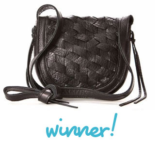 GIVEAWAY Winner! Linea Pelle Perry Cross Body Mini Handbag from StefaniBags
