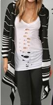 Indah Mia Blanket Wrap Sweater