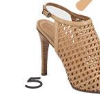 Derek Lam Natsumi Woven Leather Sandals