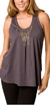 Rebecca Taylor Knit Chain Tank