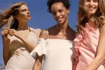 Wedding gown and bridesmaids dresses
