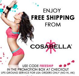 Cosabella Free Shipping