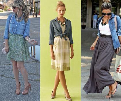Denim shirt styling tips