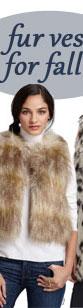 Velvet by Graham & Spencer Faux Fur Vest