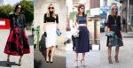 How to Wear: High-Waist Skirt + Crop Top