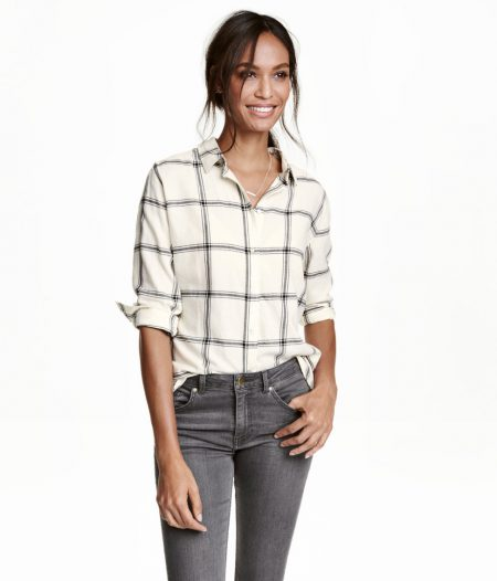 Affordable Fashion: H&M Plaid Flannel Shirt