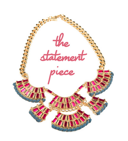 The Statement Necklace: Juliet & Co. Maharashi Necklace