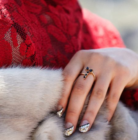 Le Cadeau by Mr. Kate Tuxedo Ring