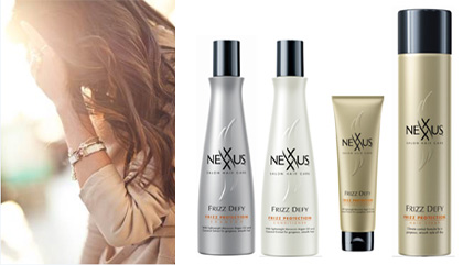 Nexxus Hair Products for Beachy Waves