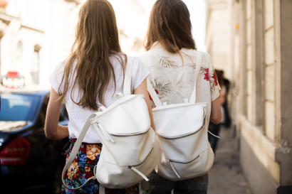 Backpack trend - Teen Vogue photograph