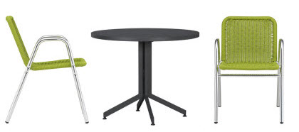 Crate & Barrel Table and Chairs