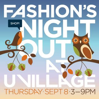 University Village Fashion's Night Out Seattle