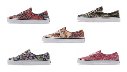 Vans and Liberty of London