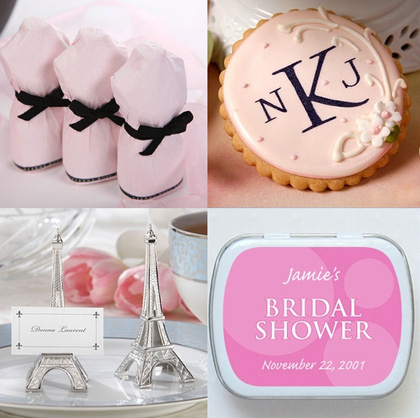 Bridal Shower Favors from American Bridal