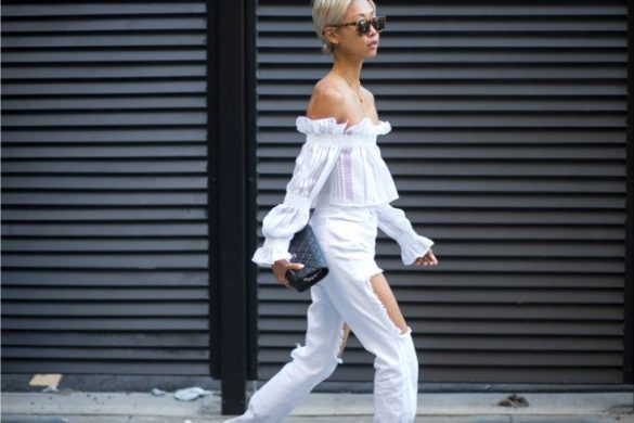 All white outfit inspiration - image via Diego Zuko