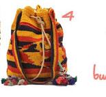 Woven Boho Bucket Bag