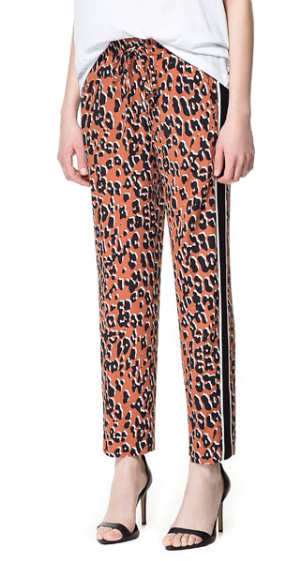 How to Wear Track Pants: Zara