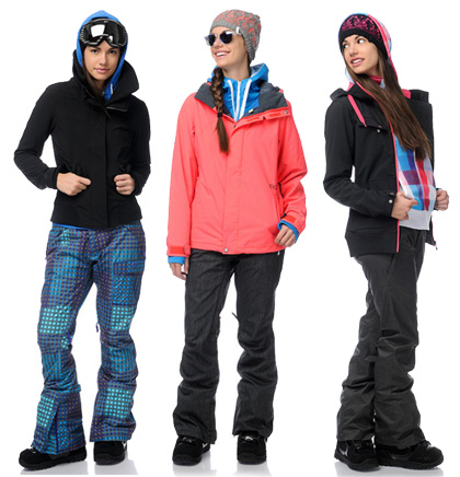 Zumiez Snow Outerwear Lookbook